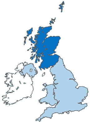 Scotland is still part of the UK!