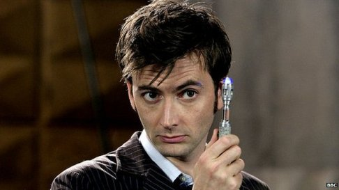 Dr Who and his Sonic Screwdriver