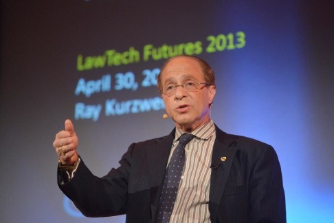 Ray Kurzweil Keynotes at LawTechFutures 2013