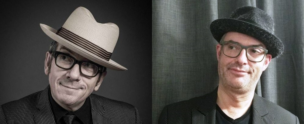 Elvis Costello and Brian Inkster